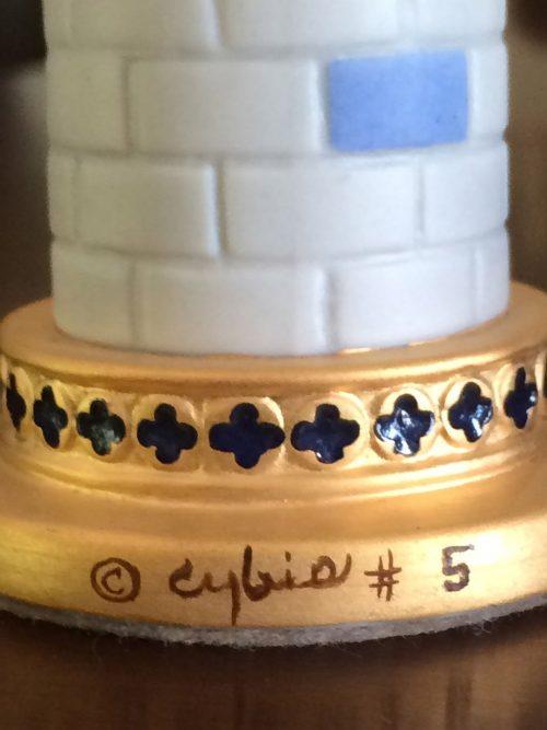 Cybis Porcelain Chess Set #5