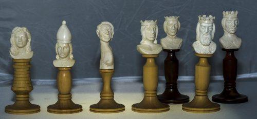 Characters Mammoth Ivory Chessmen