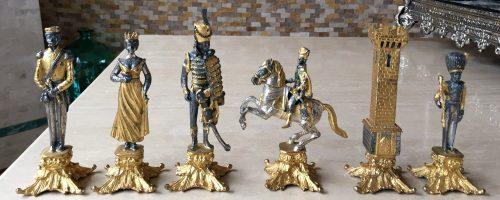 Vasari Waterloo Chess Set