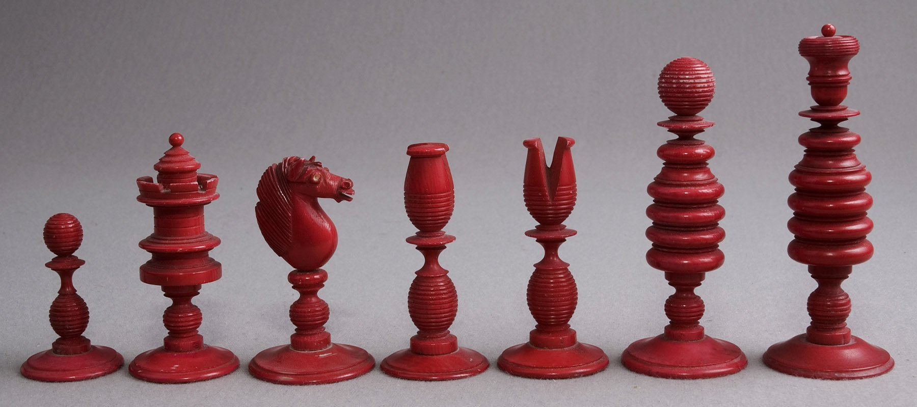 Calvert decorative type ii english playing chess set - Ornate chess sets ...