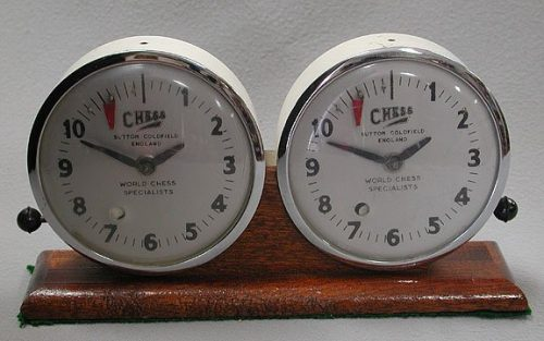 Sutton Coldfield Antique Chess Clock
