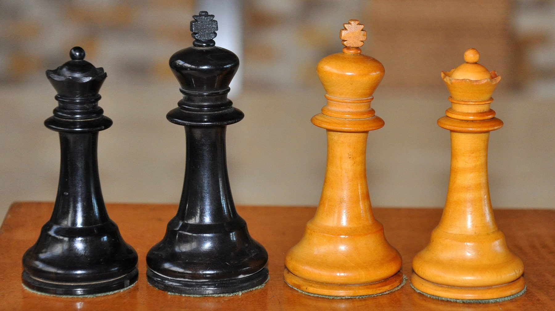 Richard whitty antique chess set - Collectible chess sets ...