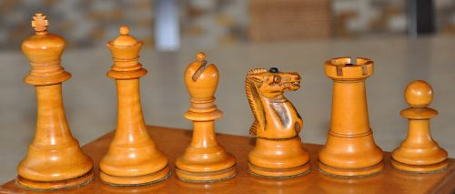 Richard Whitty Antique Chess Set