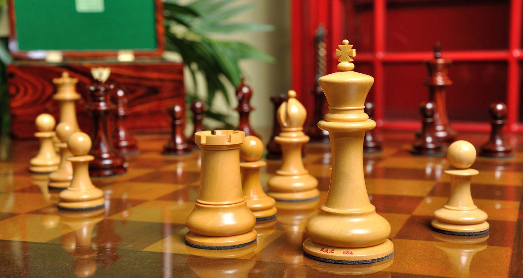 Original jaques club size 1849 staunton chessmen - The chessmen chess set ...