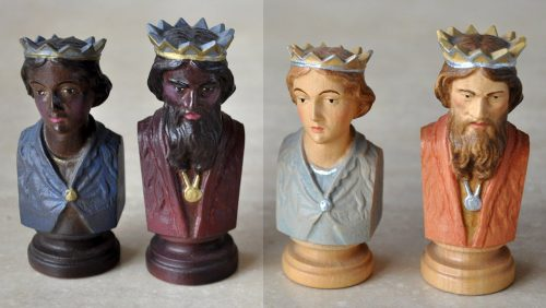 Colphi Figural Chessmen, Kings & Queens