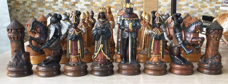 Anri monsalvat chess set 7 king - The chessmen chess set ...