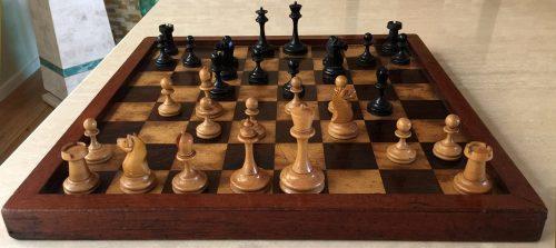 Antique B & Company Chess Set