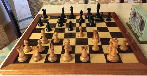 aques Staunton Chessmen, Small Club Size