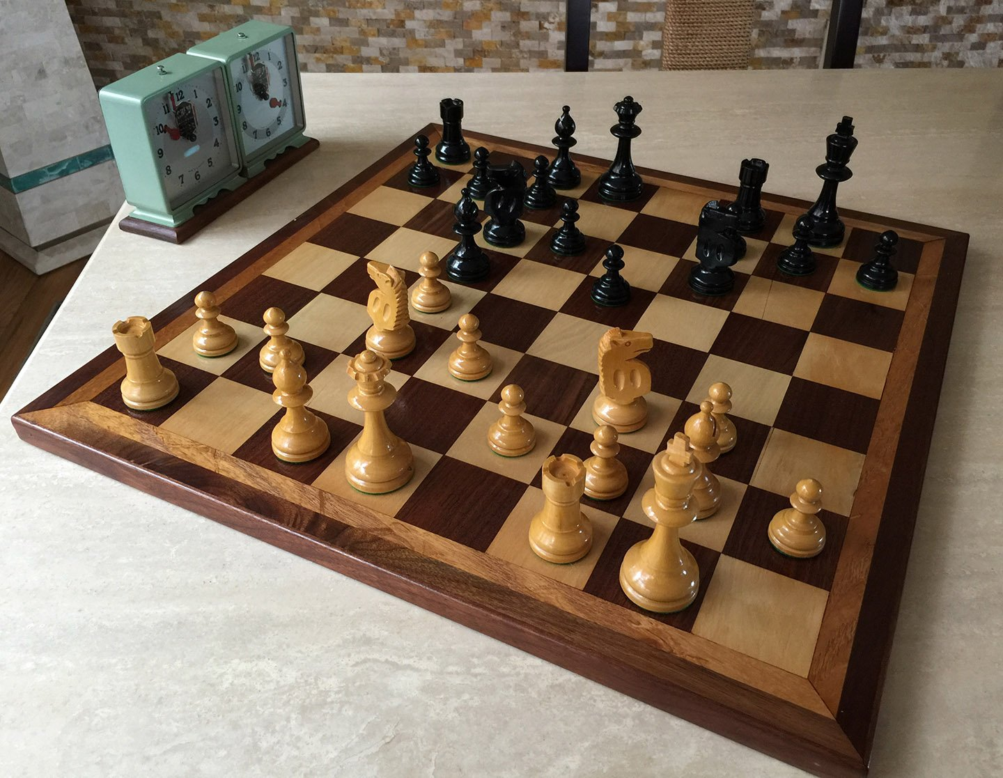 William pinney war model antique chess set - Collectible chess sets ...