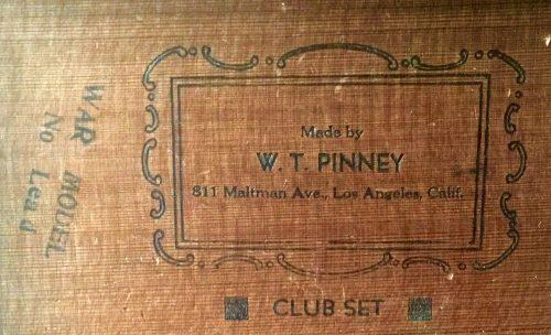 William Pinney War Model Antique Chess Set