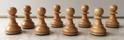 Classic Series Chessmen by The House of Staunton Chessmen