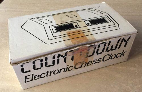Countdown Electronic Chess Clock