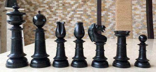 Northern Upright Tournament Chessmen