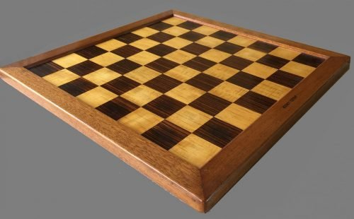 Small Jaques London Chessboard