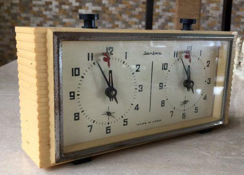 Jantar Soviet Chess Clock