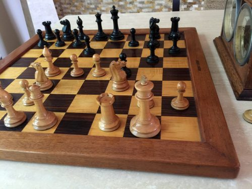 Jaques Zukertort Chessmen, Tournament Size