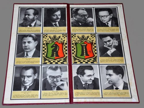 World Champions Folding Chessboard