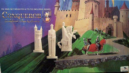 Peter Ganine Conqueror Chess Set by Pacific Games Company