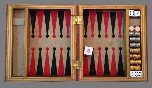 Magnetic Backgammon Travel Set