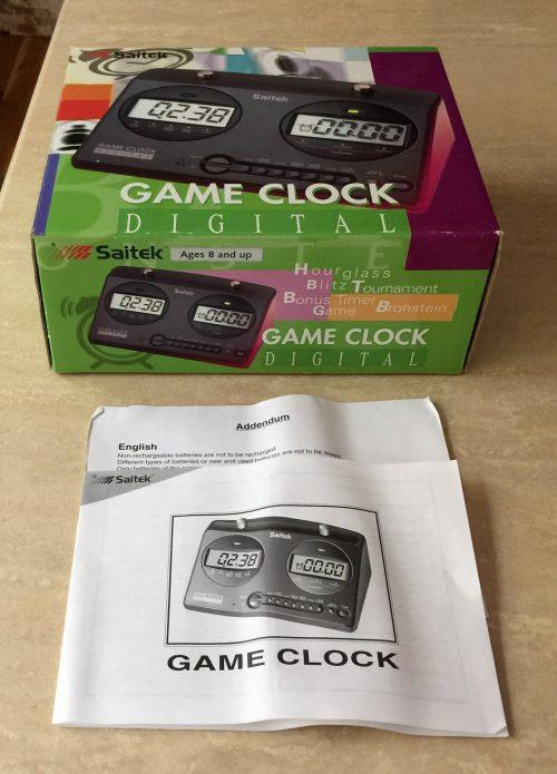 Saitek Digital Game Clock