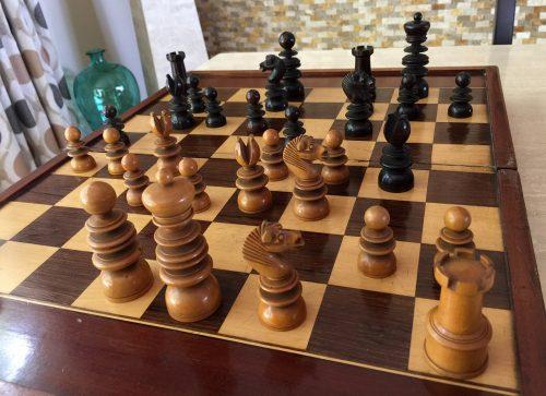 Jaques Saint George Chessmen