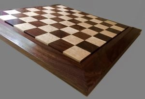 Birdseye Maple and American Black Walnut Chessboard