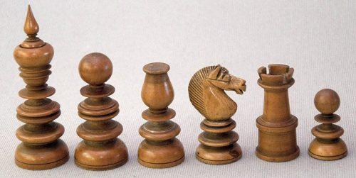 Hezekiah Dixon Saint George Chessmen