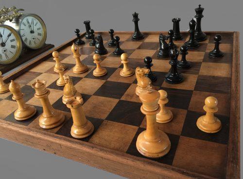 Jaques Anderssen Drop Jaw Chessmen