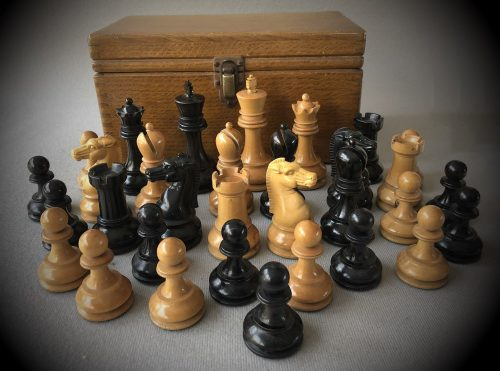 British Chess Company Improved Staunton Chessmen