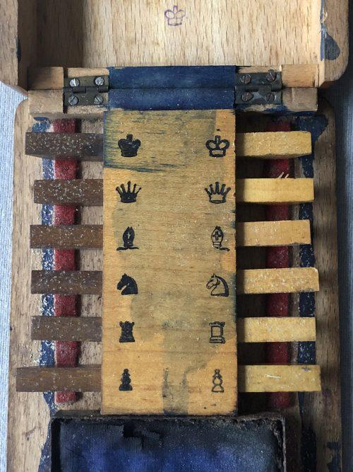 Richford's India -Rubber Chess Printer