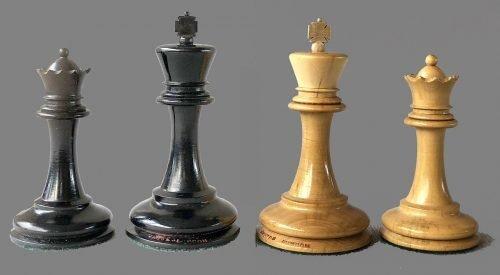 Jaques Hartston Tournament Chessmen