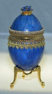 Faberge Egg Miniature Chess Set