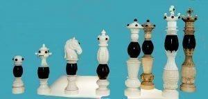 Baroque Amber Chessmen