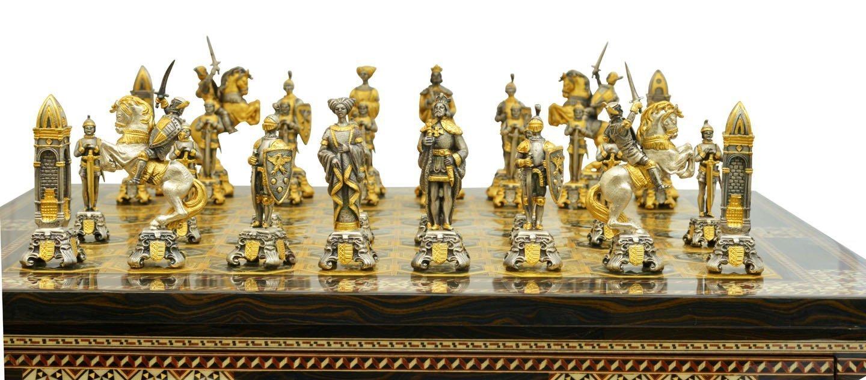Piero benzoni medieval chess set - Collectible chess sets ...