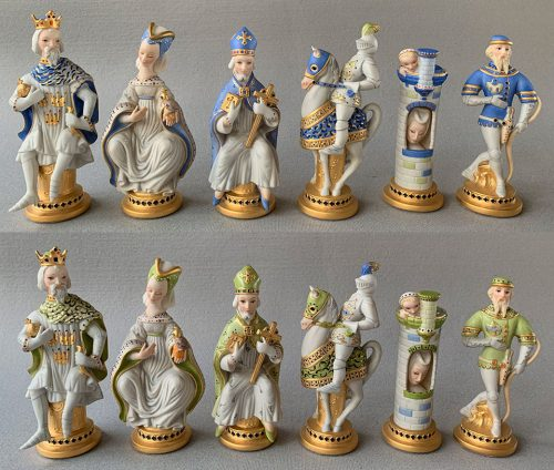 Cybis Porcelain Chess Set