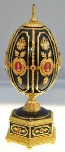 The Imperial Jeweled Egg Chess SetSet