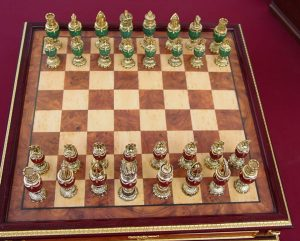 Fabergé Imperial Jeweled Egg Chess Set