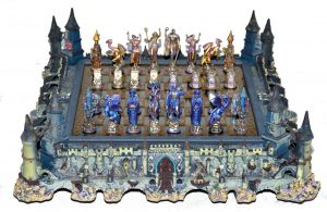 Gothic Chess Set by Franklin Mint