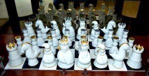 Haviland Porcelain Angels Chess