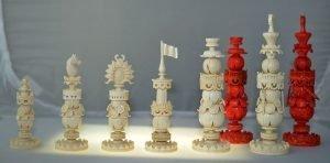 Kashmir Chains Chessmen