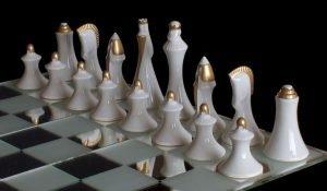 Royal Dux Chessmen
