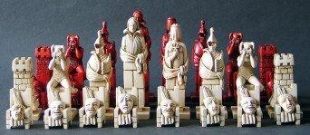Shakespeare Theater Chessmen