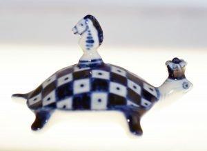 Ceramic Chess Turtle