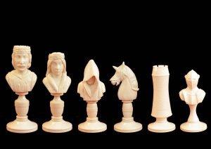 Knight Chessmen