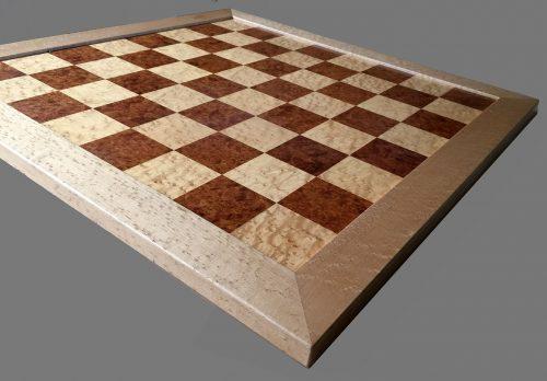 Amboyna Burl Signature Traditional Chessboard