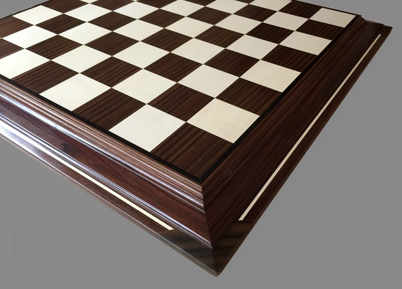 Brazilian Rosewood Chessboard