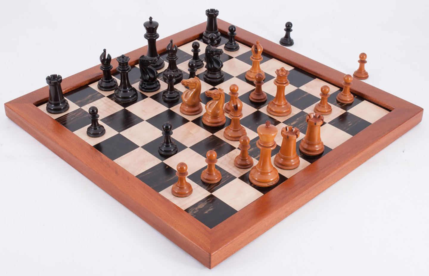 Large Jaques Paulsen Chessmen