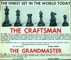 Craftsman Chessmen Ad