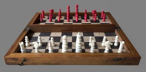Calvert Bone Travel Chess Set