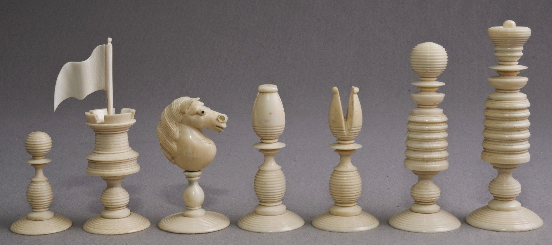 Calvert Type II English Chessmen